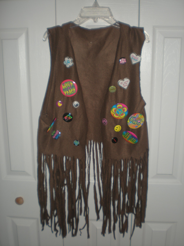 Homemade hippie vest nerdy chicks rule and solutioingenieria Gallery
