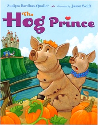 If you're looking for the perfect Valentine's book, full of play on words, check out The Hog Prince by my blogging partner, Sudipta!
