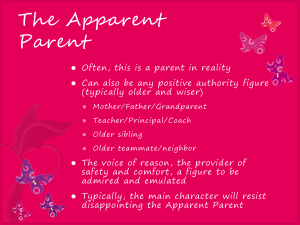 apparent parent