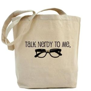 nerdy tote