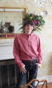 My son on his 18th birthday.