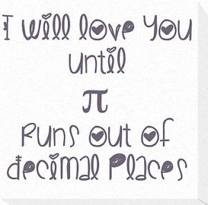 never ending pi love