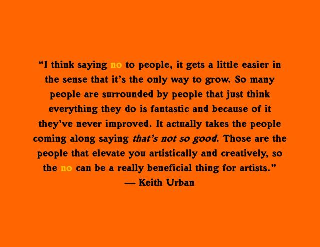 Keith Urban Quote