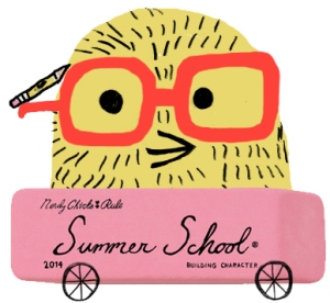 Read the Publisher's Weekly article about Kidlit Summer School HERE or visit the BLOG to see posts on character.