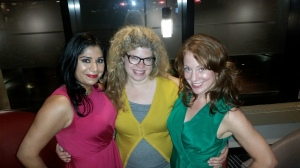 Sudipta, Marcie, and Kelly